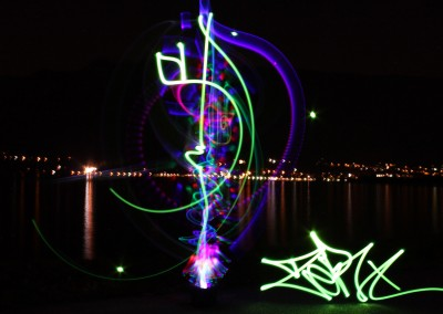 Light painting by Zert Phot by Andrea 2014 Lac du bourget (73)