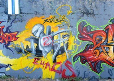Graffiti Street art Reox SPM - Krash 2 - Zert 711 2010 Carros (06)