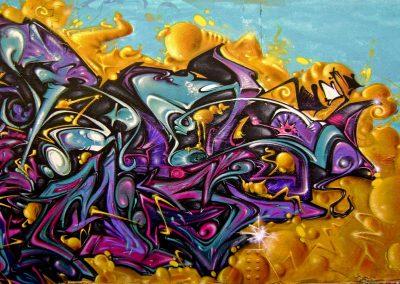 Graffiti Street art Rems GF - Zert 711 2009 Grasse (06)