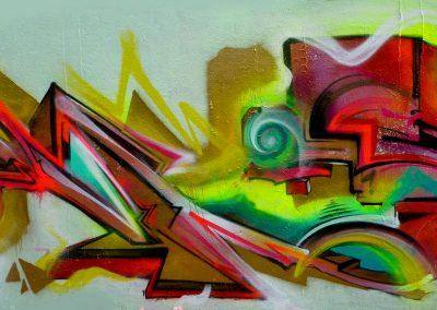 Graffiti Street art Cumshot : Rems GF - Zert 711 2013 Grasse (06)