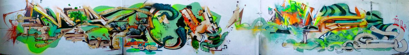 Graffiti Sreet art Machine : Rems GF - Zert 711 2013 Grasse (06)