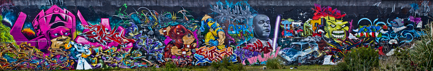 Gaffiti Street art Asty - Cemo - Aseb - Abime EC - Zert - Seok - Sea - Syam - Cercle - Otis - Kalm - Check OPK 711 EC 2013 La Seyne sur mer (83)