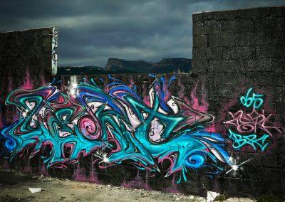 Graffiti Street art Zert en 2008 à Nice (06)