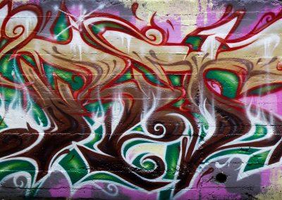Graffiti Street art Zert en 2009 à Grasse (06)