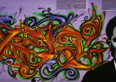 Graffiti Street art Zert en 2009 à Cagnes sur mer (06)