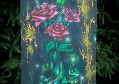 Graffiti Exposition Calligraphie Canvas 2016 Zert 50x100