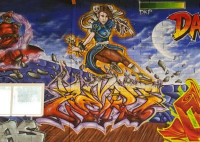 Graffiti Street art Zert en 2021 à Grasse (06)