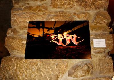 Exposition à l'Insolite à Aix les Bains en Savoie 73 Graffiti (2017)